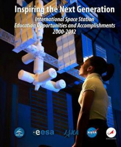 "Cover of the education publication: ""Inspiring the Next Generation: International Space Station Education Opportunities and Accomplishments, 2000-2012."" (NASA)"