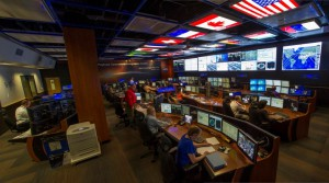 The Payload Operations Integration Center at NASA's Marshall Space Flight Center in Huntsville, Alabama. (NASA/Emmett Given)