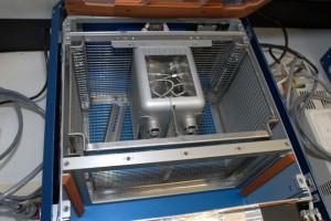 Image of the Mouse Immunology (MI) Animal Enclosure Modules (AEM). (NASA)