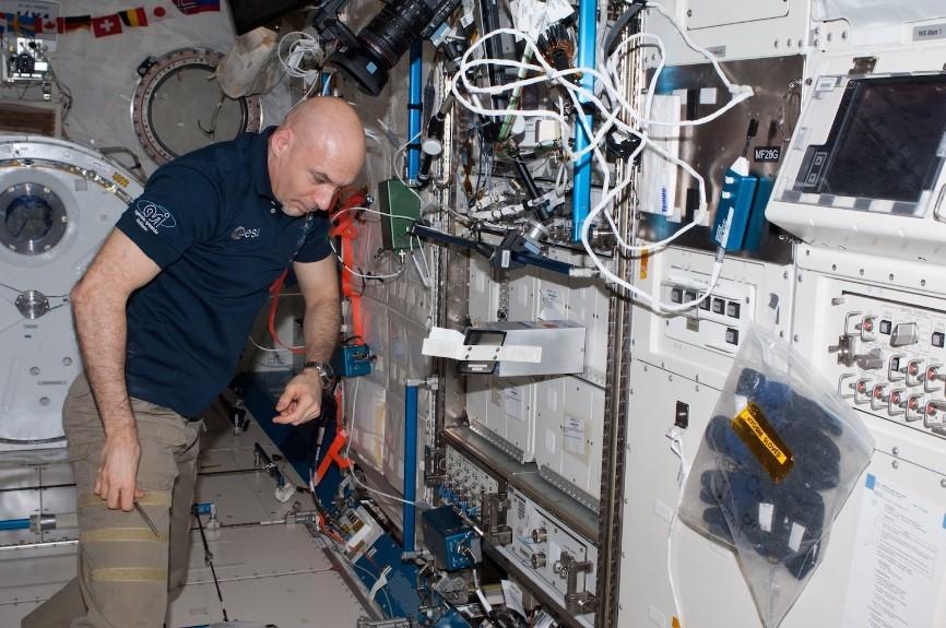 A Lab Aloft (International Space Station Research)