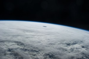 Supertyphoon Vongfong as seen by the crew of the International Space Station on Oct. 9, 2014. (NASA)