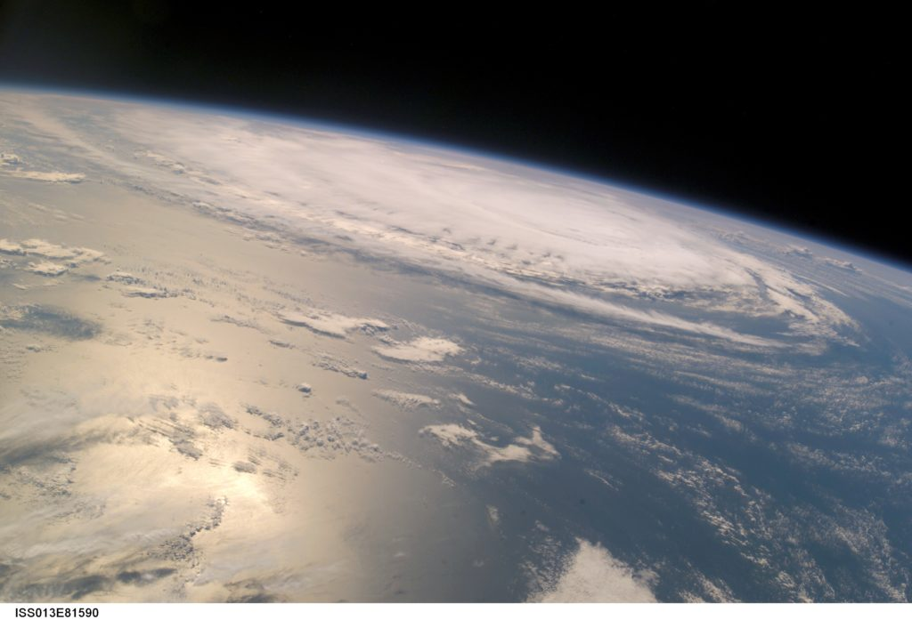 Hurricane Gordon, as photographed by a space station crewmember on Sep. 15, 2006. At the time the image was taken, the sustained winds were 85 nautical miles per hour with gusts to 105 nautical miles per hour. Credits: NASA