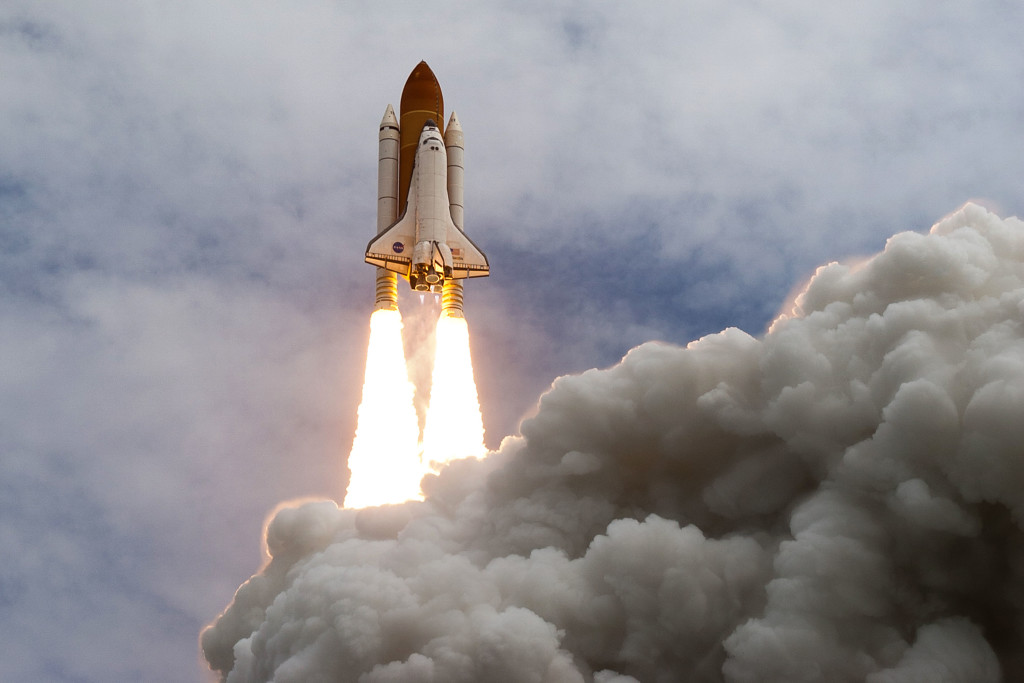 Launch of the STS-135 space shuttle mission in July 2011