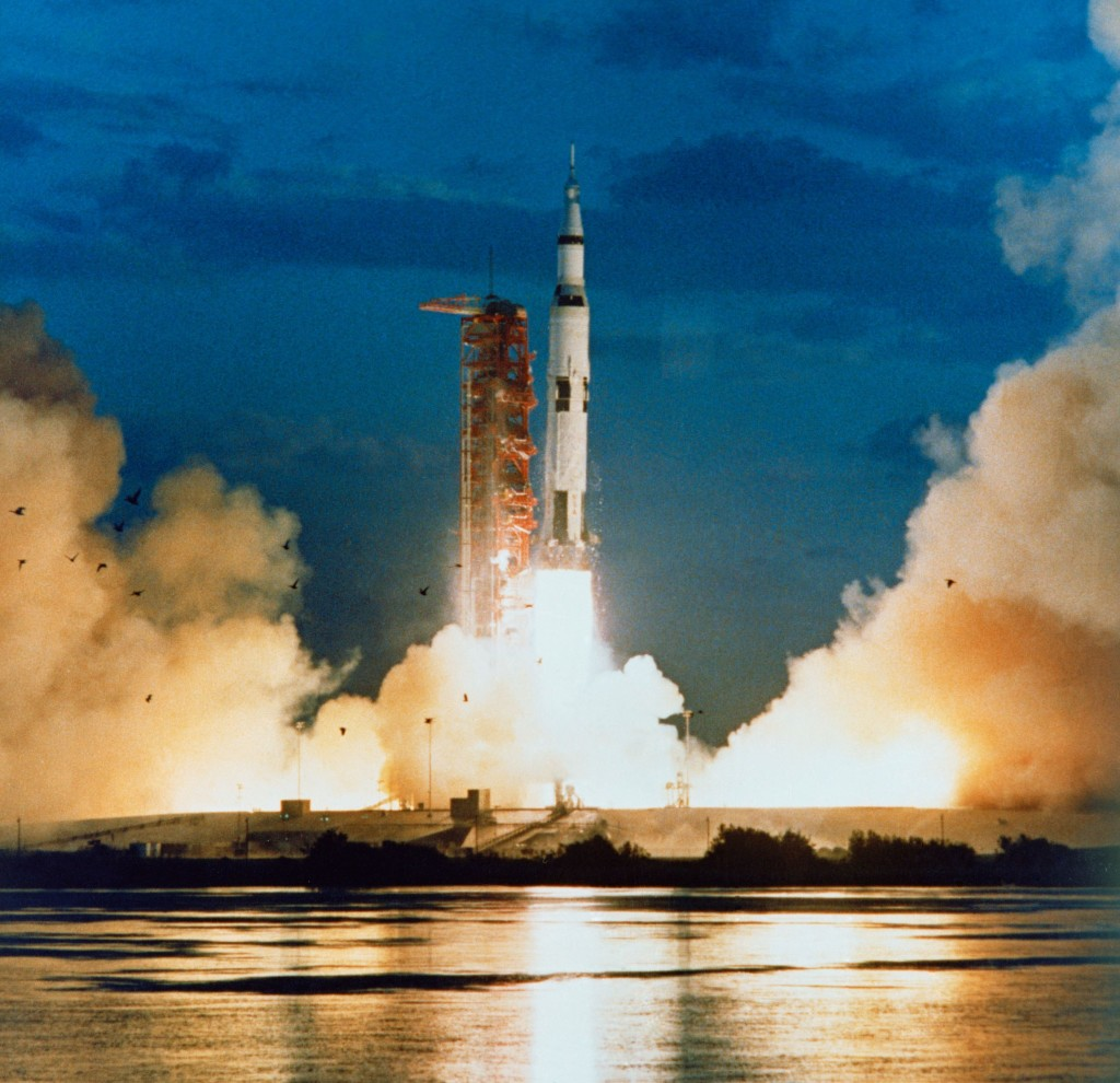 Launch of Apollo 4