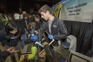 Sylvania Northview High School rocketry team at NASA's Student Launch competition