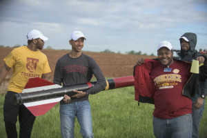 Tuskegee University's rocketry team at NASA's Student Launch competition
