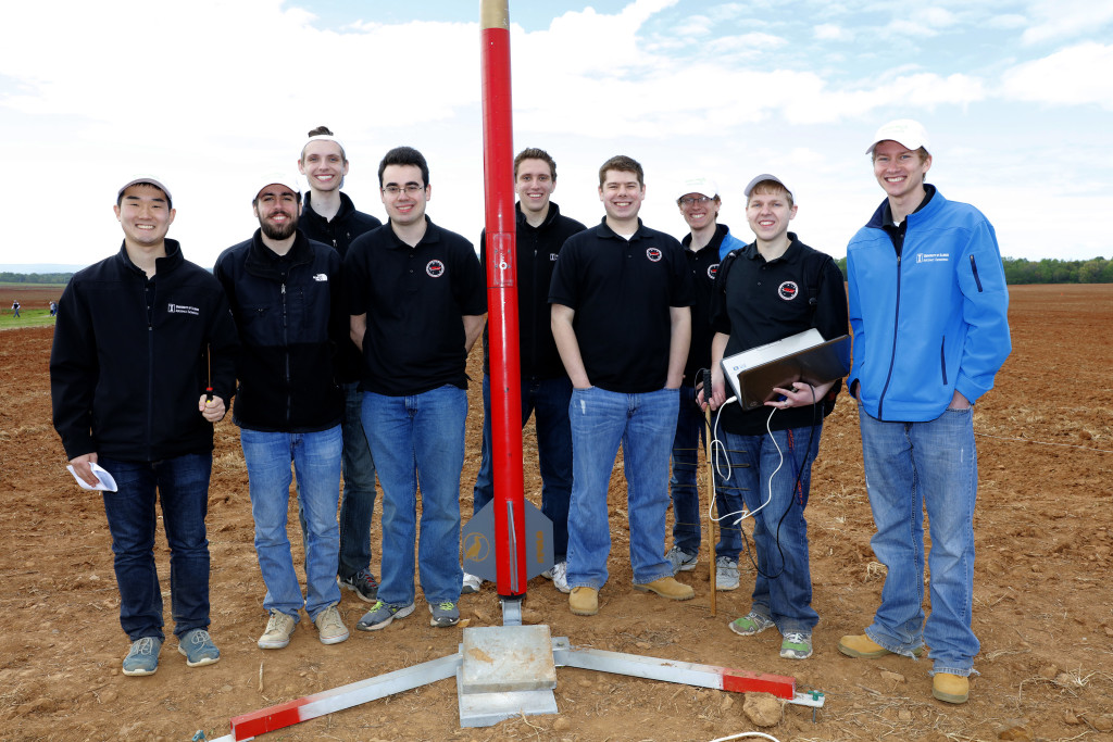 University of Illinois Urbana-Champaign student rocketry team