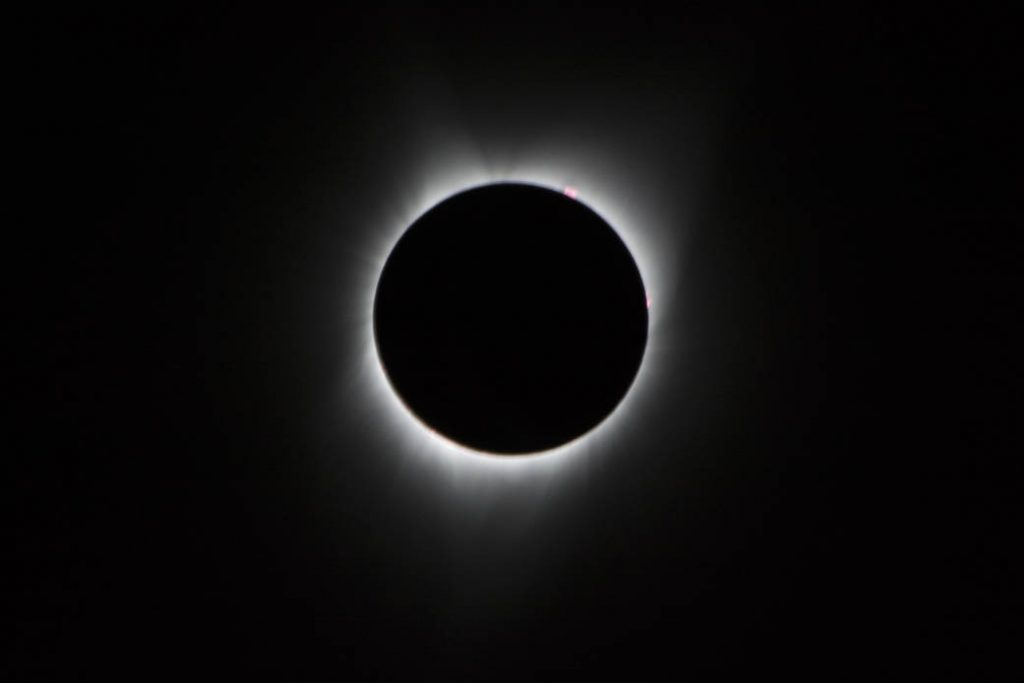 total solar eclipse image