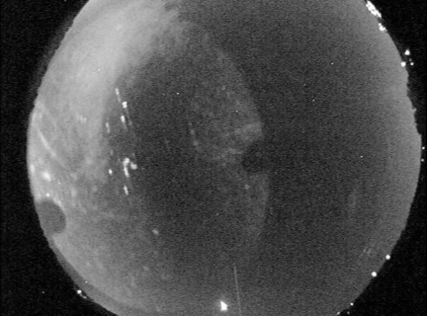 Meteor Fragment Streaks Over Alabama and Georgia