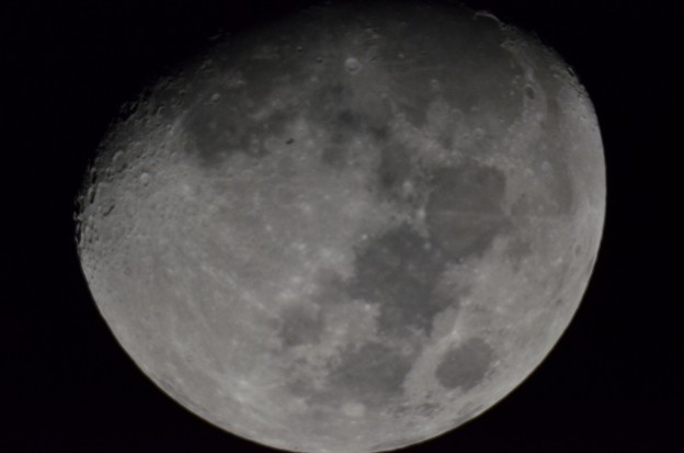 The ISS Transits the Moon over Decatur, Alabama