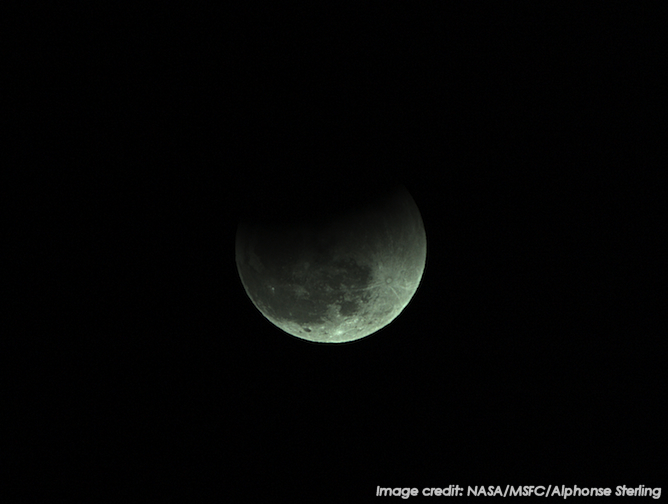 This image shows the Dec. 20, 2012 total lunar eclipse, as seen from Sagamihara, Japan.