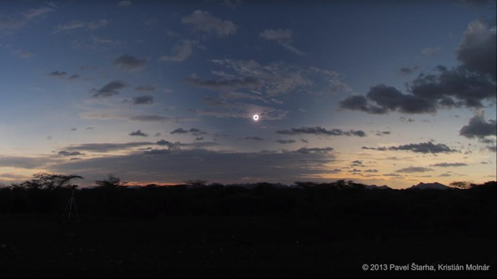 2013 total solar eclipse. Credits: Copyright Pavel Štarha, Kristián Molnár