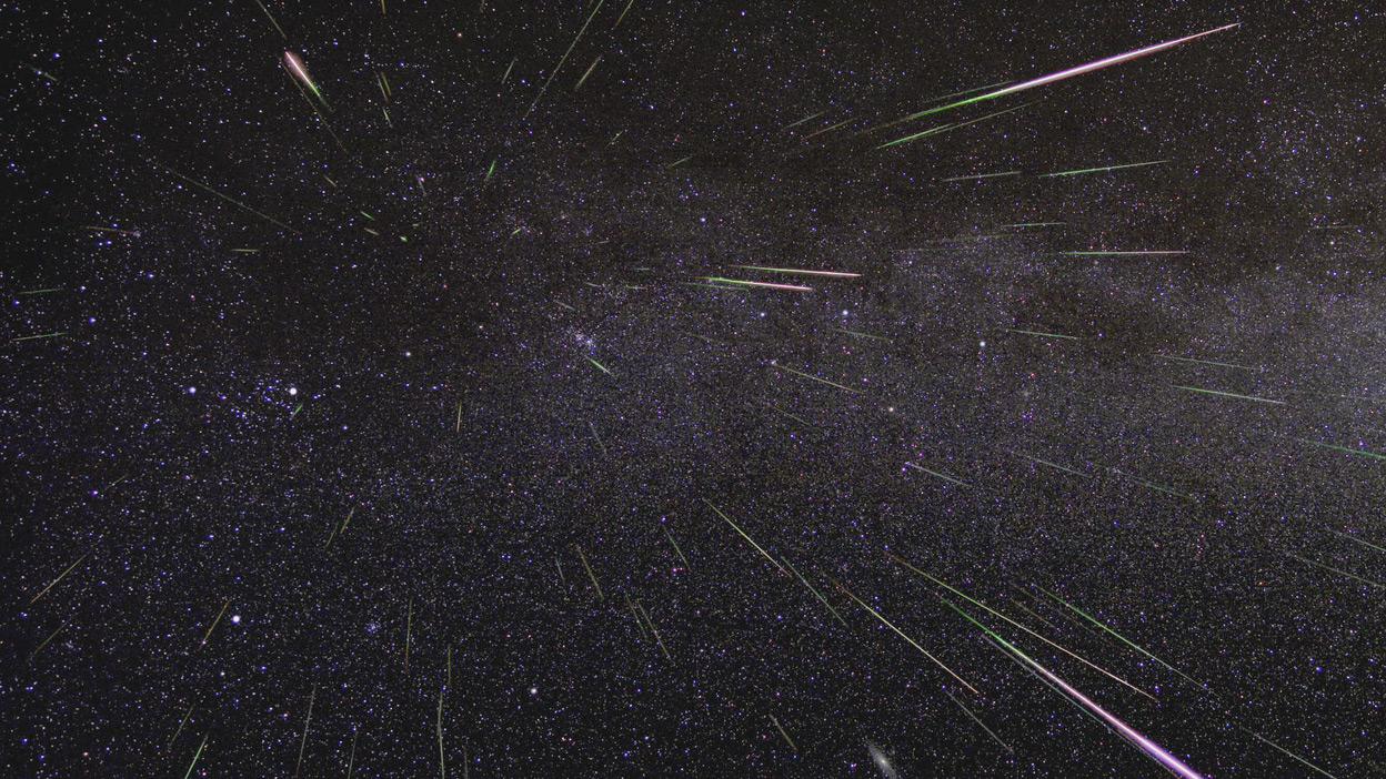 Image result for nasa meteor shower
