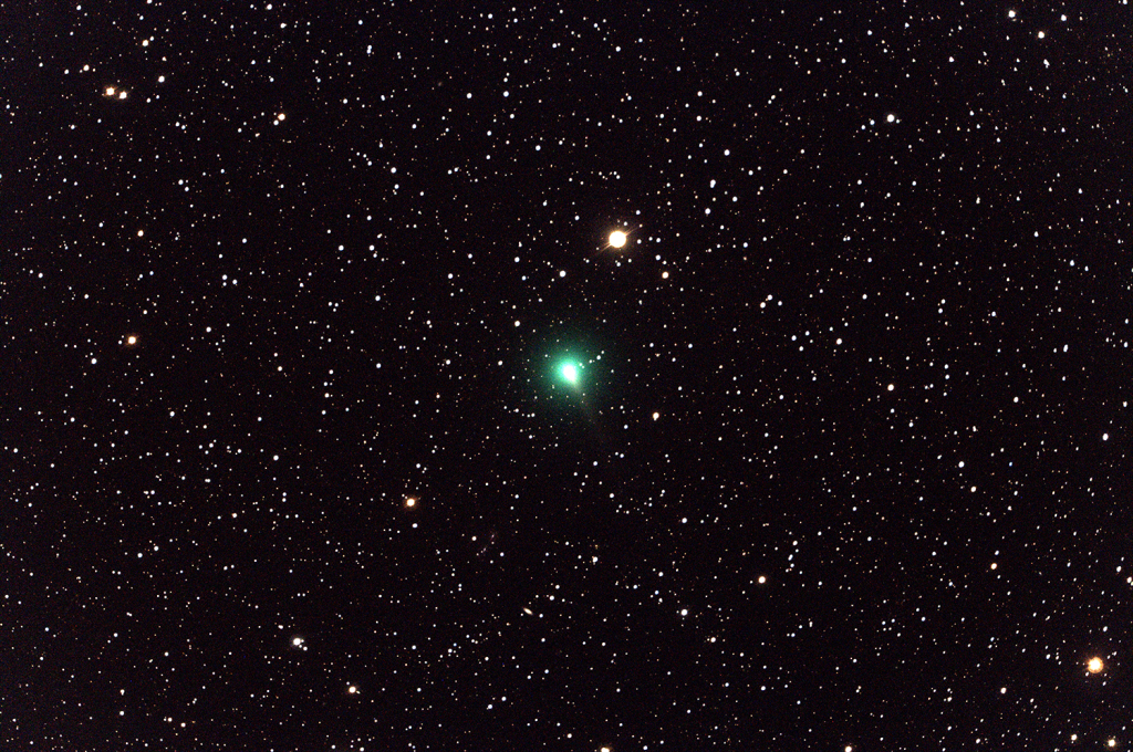 Comet C/2019 Y4 ATLAS (Credits: NASA/Tiffany Clements)