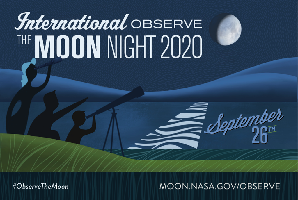 International Observe the Moon Night 2020