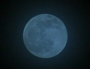 One way to make a Blue Moon is by using a blue filter.