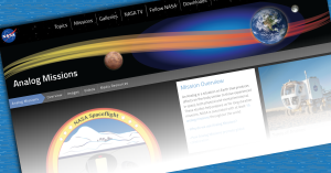 NASA launches new Analog Missions website