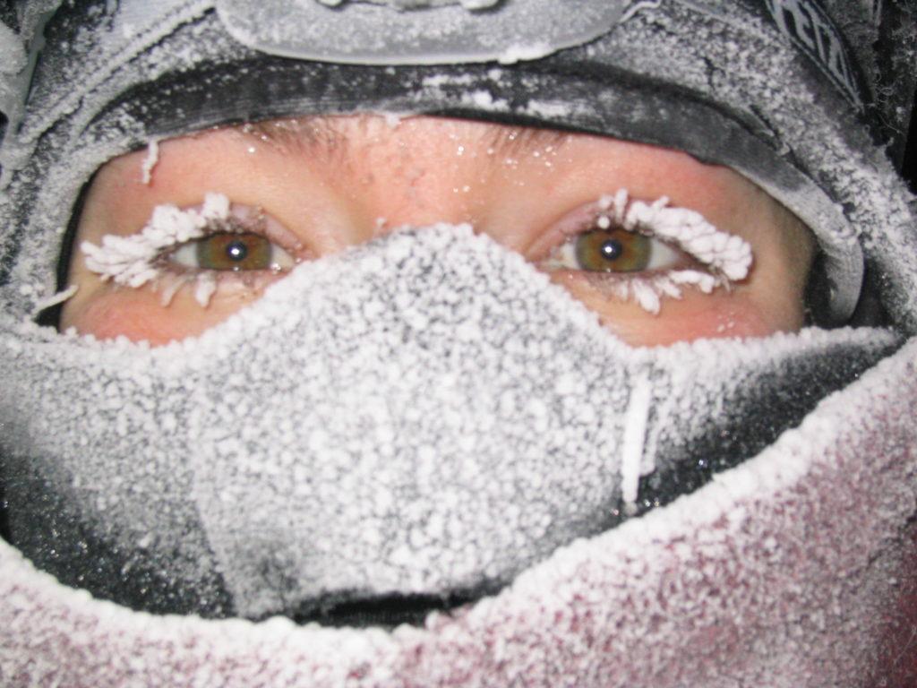Christina Koch in Antarctica