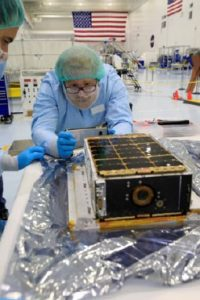 Teams prepare the Lunar IceCube