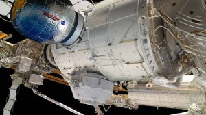 This artist's concept depicts the Bigelow Expandable Activity Module (BEAM), constructed by Bigelow Aerospace, attached to the International Space Station. The BEAM will be launched to the space station later this year. Image Credit: Bigelow Aerospace