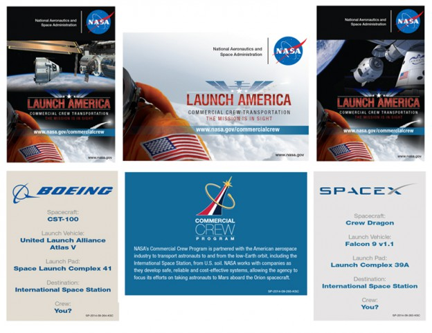Just Released: New Commercial Crew Transportation Collectible Cards
