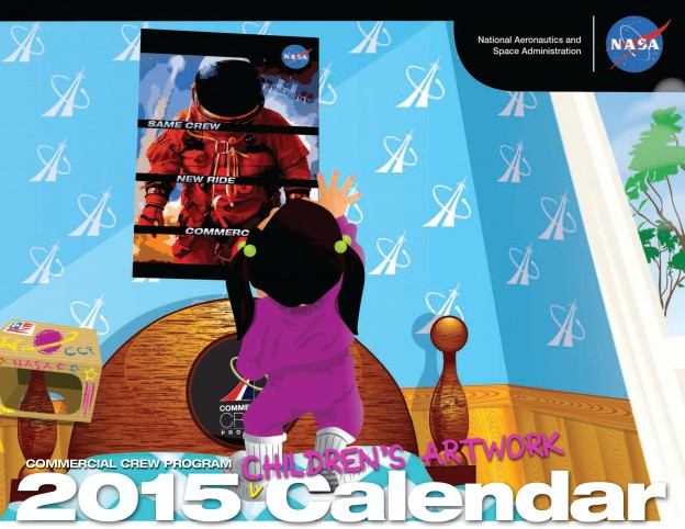 Turn the Page: Print Your 2015 Commercial Crew Calendar