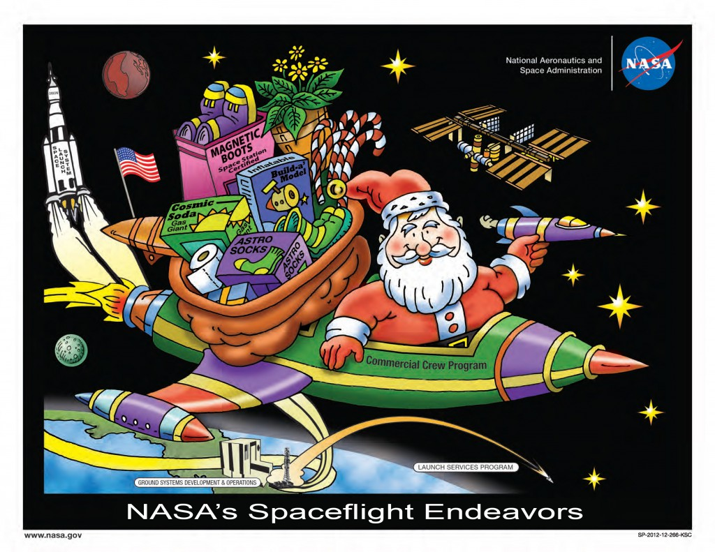 NASA is Ready for Santa