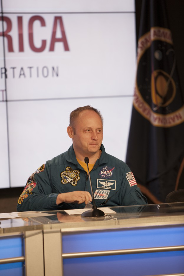 Fincke: Space Exploration Offers Unique Inspiration