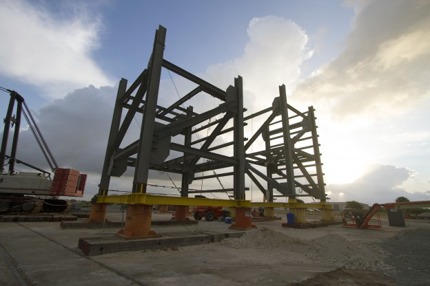 New Crew Access Tower Takes Shape at Cape