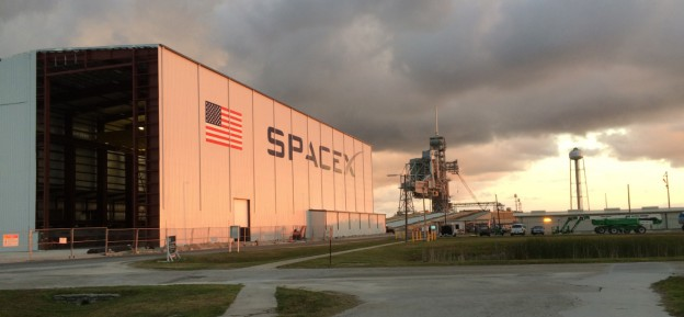 SpaceX Work Continues on 39A Hangar