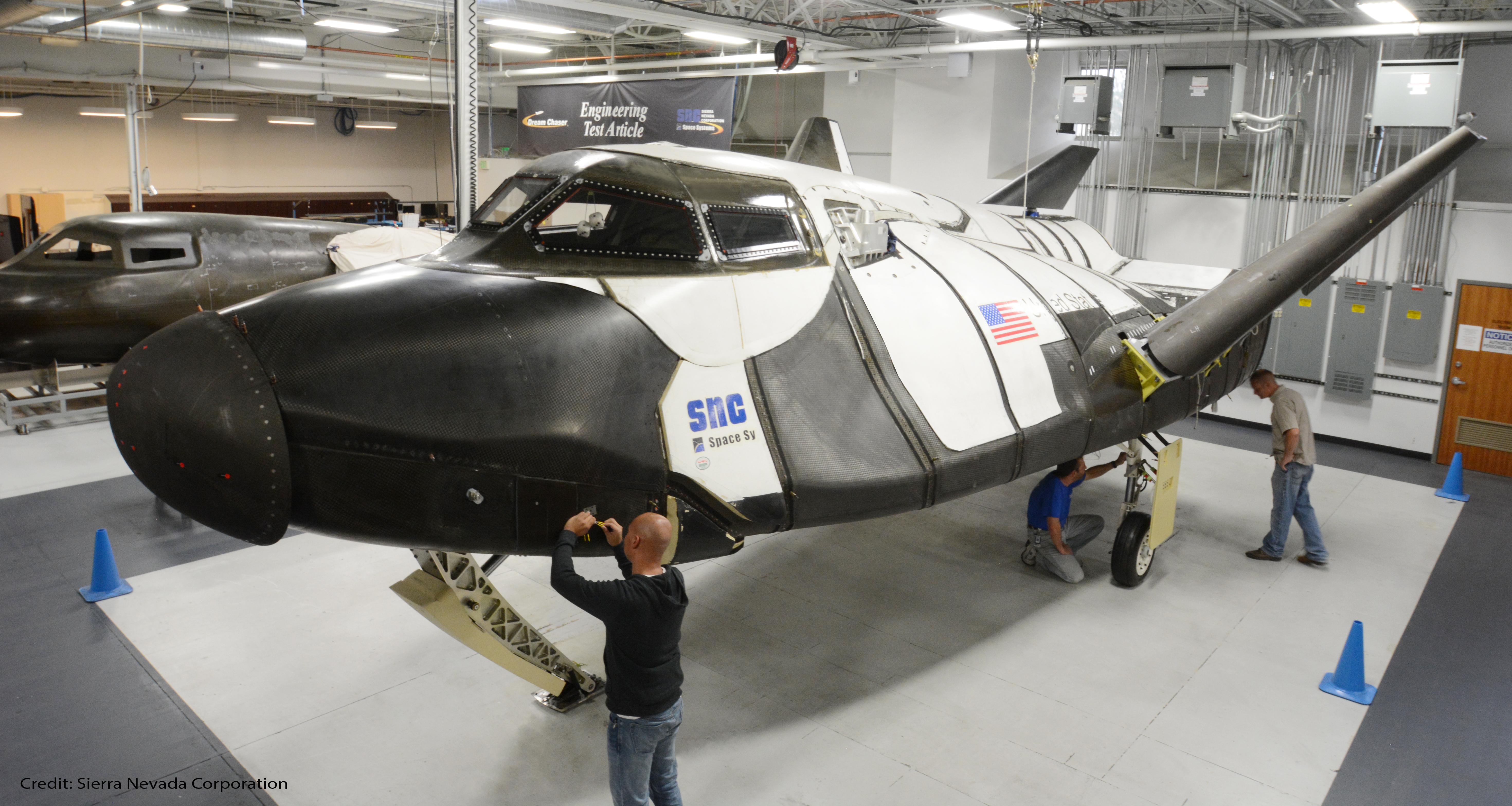 Na Nasa New Space Shuttle Design - Dreamchaserfull