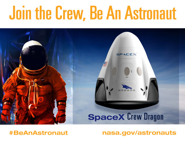 Next Generation Astronaut, Meet Next Generation Spacecraft