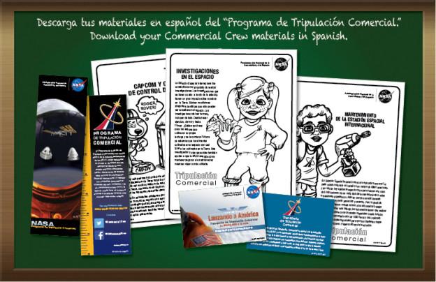 Descarga Tus Materiales del Programa de Tripulacion en Espanol!