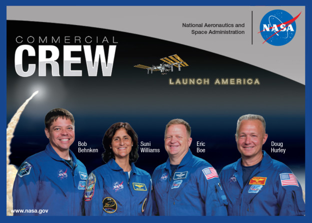 Commercial Crew Astronauts: Faces of the Future