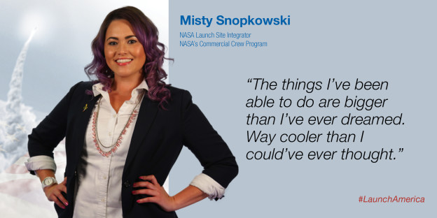 I Will Launch America: Launch Site Integrator Misty Snopkowski