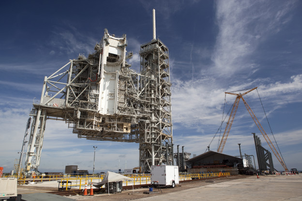 Modifications Transforming Pad A for Falcon Launches