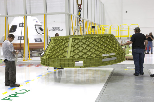 Spacecraft 1 Major Components Arrive for Assembly