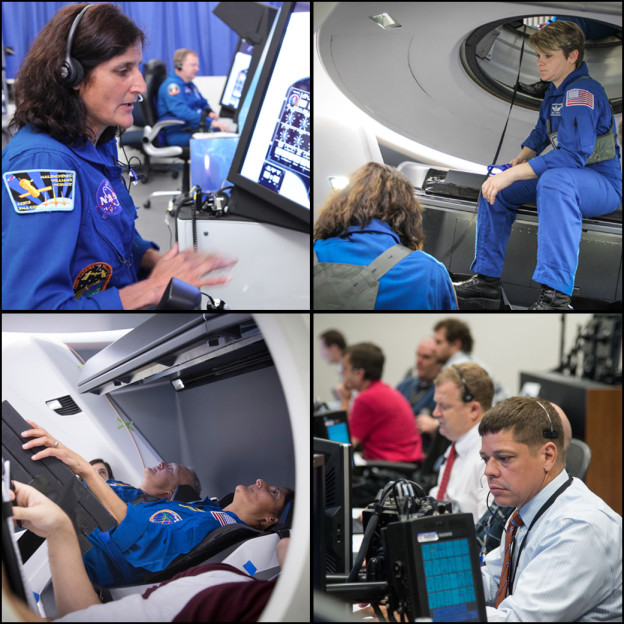 Astronauts Provide Vital Feedback in Spacecraft Development