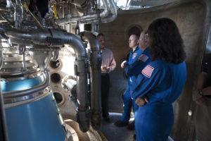 Commerical Crew Program (CCP) Astronauts visit Aerojet Rocketdyn