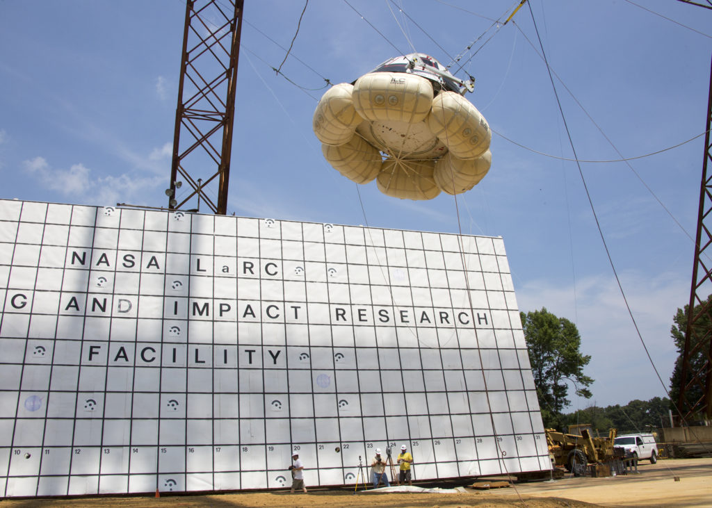 Boeing Starliner Drop Test Campaign
