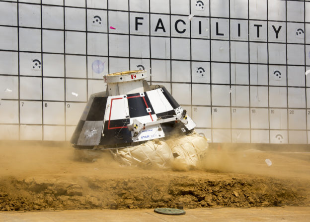 Starliner Tested for Ground-Landing Conditions