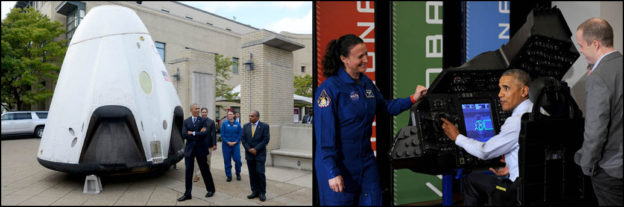 ICYMI: President Touts Advances in Commercial Crew Spacecraft