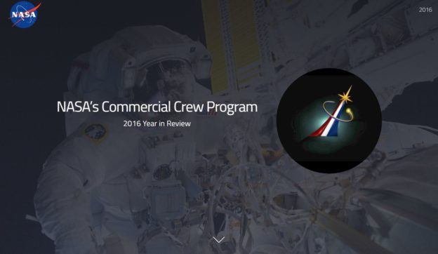 Commercial Crew Program Completes Year of Transition