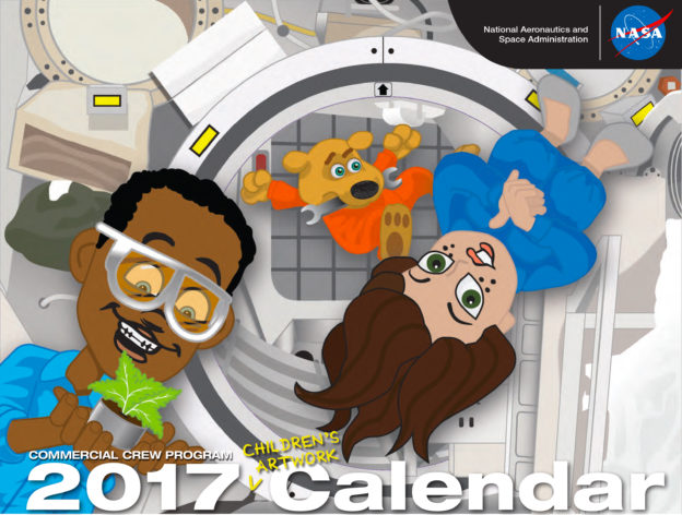 Children's Artwork Calendar Now Available for Download!