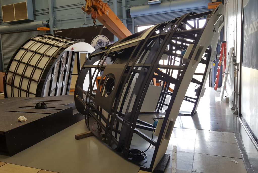Boeing Mission Simulator for CST-100 Arrives at JSC