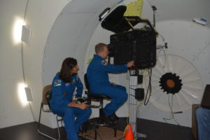 Boeing Mission Simulator with CCP Astronauts