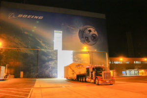 Boeing's CST-100 Structural Test Article Shipment from C3PF to B