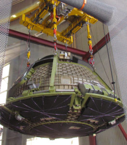 Boeing's CST-100 Structural Test Article Arrival - Boeing's Faci