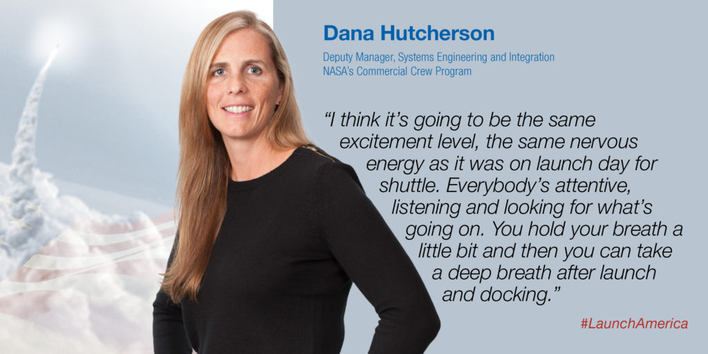 Dana Hutcherson, NASA's Commercial Crew Program