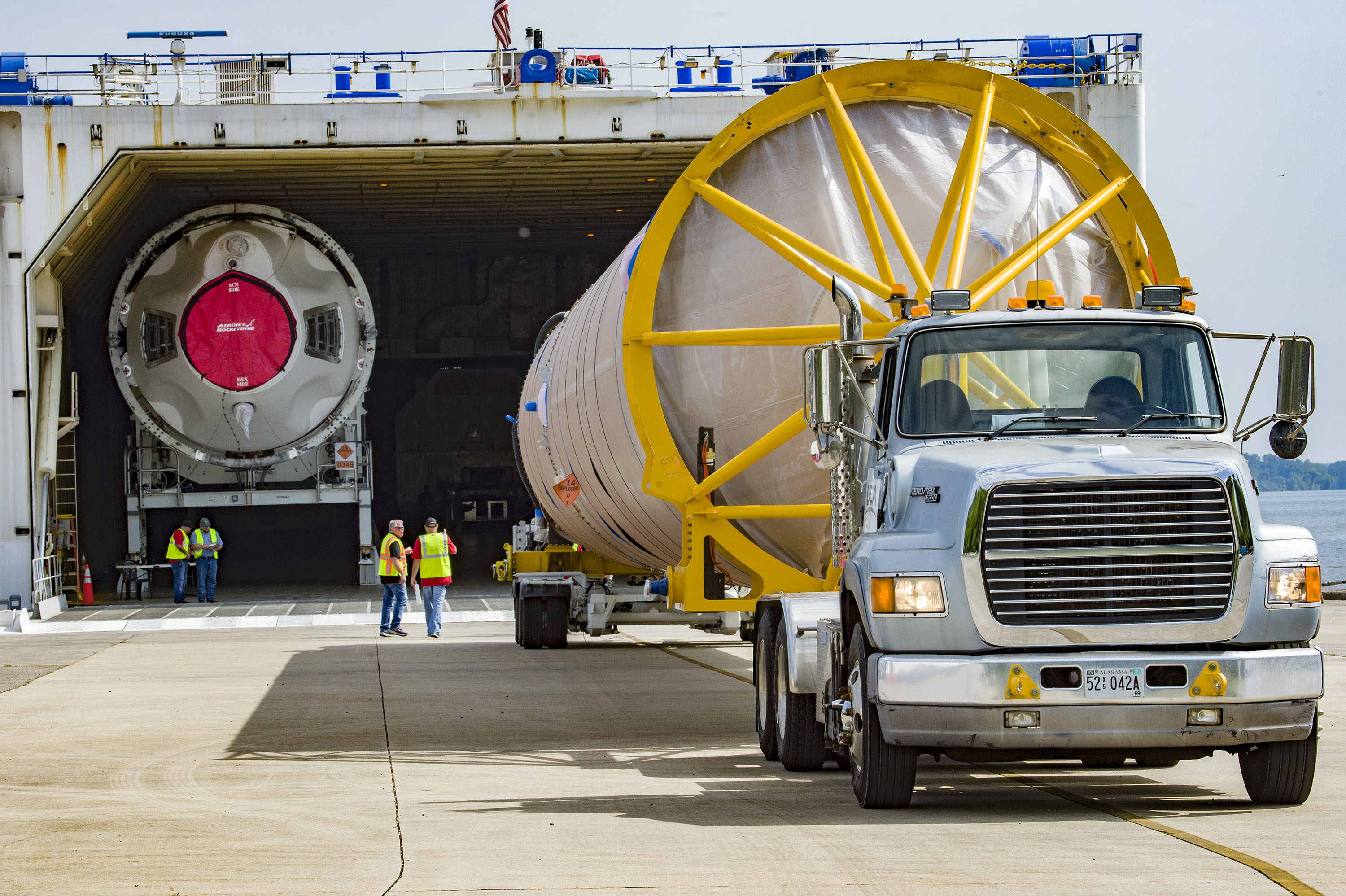 The Atlas V to Lift Starliner with Astronauts Departs Factory for